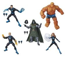 "IN HAND! Marvel Legends 6"" Fantastic 4 Four + DOCTOR Dr DOOM NO Super Skrull BAF"