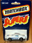 RARE SUPERS CARD Matchbox Lesney Superfast #23 C1 Ford Mustang GT350 USA Issue