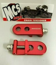 "MCS BMX 3/8"" CHAIN TENSIONERS RED"