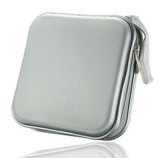 40 CD DVD Disc Album Storage Carry Case Cover Wallet Holder Bag Hard Box CT J6Y8