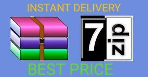 7zip Professional File Compression/Unzip Zip/Winzip/Rar Compatible Software
