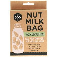 ever ECO Nut Milk Bag Easy to Clean Reusable Strain Filter Fine Mesh BPA free