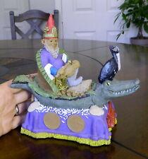 "*Rare Tom Clark Gnome ""Louisiana"" Edition # Drilled Out 1998"