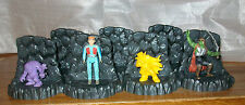 Lot of 7 Diorama Figure Stands Dungeon Style for AD&D MIMP M.A.S.K. etc figures