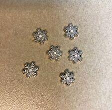 Christmas Snowflake Charm for Floating Glass Living Memory Locket