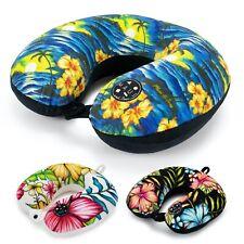 Maui & Sons Hawaiian Memory Foam Travel Neck Pillow