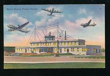 Civil Aviation Canada TORONTO Malton Airport c1930/40s? PPC