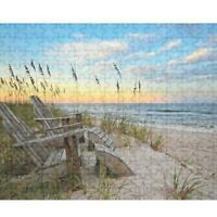 1000 Piece Adult Children Jigsaw Puzzles Household Sea Sunrise Kid Puzzle Game