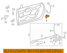 FORD OEM 2005 Thunderbird-Outside Exterior Door Handle Right 5W6Z7622404AAN