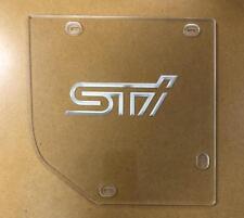 Clear intake cover for Cobb intake Subaru WRX 08-14