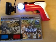 House the dead  shoot and zombies games Move Motion gun and  Camera (PS3) party