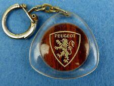 Porte-clés, Key ring - PEUGEOT - Sté PALOISE AUTOMOBILE - PAU (64) -