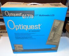 """Viewsonic Optiquest Q171B 17"""" LED LCD Computer Monitor Unused In Open Box"""