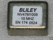 BLILEY NV47M1008 10MHz +5V Square Wave OCXO