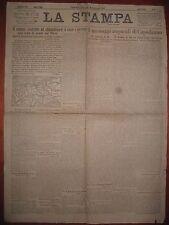 LA STAMPA  2/1/1918  incursioni nemiche su Vicenza Bassano Castelfranco Treviso