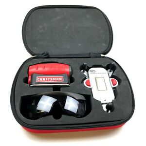 Craftsman 4-in-1 Level with LaserTrac & Case