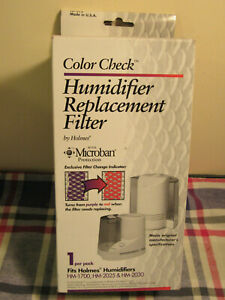 Color Check HUMIDIFIER REPLACEMENT FILTER HF-212  Fits Holmes HM-1700/2025/2030