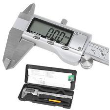 "150mm 6"" LCD Digital Vernier Caliper Electronic Gauge Micrometer Precision L4B5"