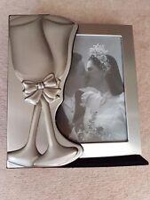 Personalised 4 x 6 Mr And Mrs Aluminium Silver Photo Album Wedding Day Gift