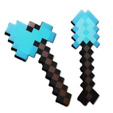 Like items from Game  Blue Diamond Axe and Showel EVA FOAM Weapons soft toy