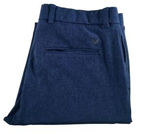 Mens Callaway PGA Tour Issue Stretch Lightweight Classic Pants Tech 5 Pocket 34