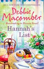 (Good)0778303799 Hannah's List (MIRA),Debbie Macomber,Paperback,MIRA Books