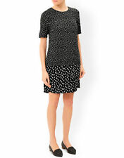 Monsoon V-Neck Short Sleeve Spotted Dresses for Women