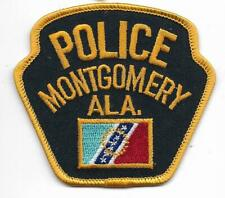 US Capital City HAUPTSTADT ALABAMA Montgomery Polizei Abzeichen Police Patch USA