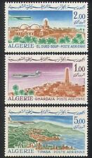 Algeria 1967 Airmail/Aircraft/Planes/Transport/Buildings/Architecture 3v n39277