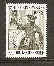 AUSTRIA # B328 MNH STAMP DAY & LOCAL POST CARRIER