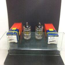 2 tubes electronique MINIWATT DARIO 6U8/vintage valve tube amplifier/NOS