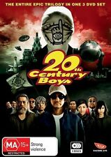 20th Century Boys Trilogy (DVD, 2010, 3-Disc Set) Brand New Region 4