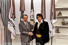 "Elvis Presley ""DEA"" Replica Cards Presented to Him By President Nixon In 1970"