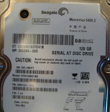ST9120821AS 9W3184-022 FW:7.24 120gb Sata Laptop Drive