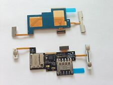 Lettore SIM SD Scheda Reader LED Flash VOLUME TASTO POWER TASTO per LG Escape p870