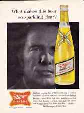 1961 MILLER HIGH LIFE  ~  GREAT CLASSIC MILLER PRINT AD