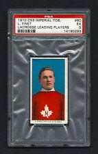 PSA 5 1910 C59 LaCROSSE CARD #80 L. FINET
