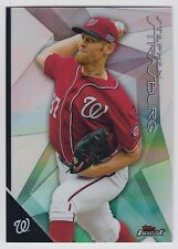 STEPHEN STRASBURG 2015 Topps Finest Baseball Refractor #25 Nationals