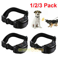 1-3pc Anti Bark No Barking Training Automatic Electric Dog Training Shock Collar