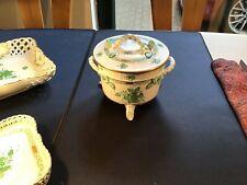 Herend Apponyi grün, Deckeldose 6300 AV Dose oder Suppenschüssel 1,5 l super