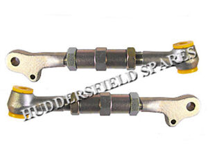 Adjustable bottom control arms with bushes for classic Mini, pair off