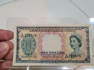 Queen Elizabeth 1 dollar (1953) UNC
