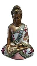 Peaceful Intentions Buddha Draped in Fabric Robe