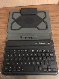 M Edge Black Portable Keyboard Case