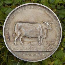 Irish Polled Aberdeen Angus Association, Dublin Medal / medallion / coin silver