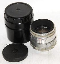 HELIOS-44  2/58mm lens  (13 blades ) for  old ZENIT M39 KMZ #0230534 cap