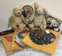 Muffy Vanderbear Bear Floppy Vanderhare & Outfit & Accessories Lot New