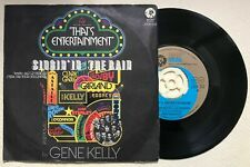 """Gene Kelly - SINGIN' IN THE RAIN / THAT'S ENTERTAINMENT 45/ 7"""" Mgm"""