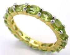 Anelli di lusso ovali naturali Misura anello 17