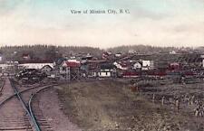 Photo. ca 1909. Mission City, BC Canada.  View